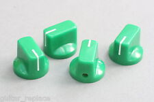 Knobs Verde 19x15 mm. Fit 6.35 Potes Effect Pedal Poti Knöpfe Boutons Green