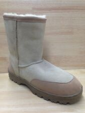 "Lamo Men's Genuine Sheepskin 10""  Boots US Size 13.0M"