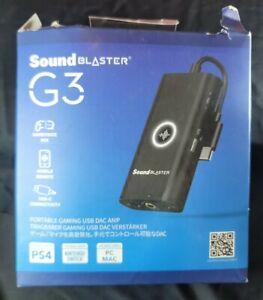 Creative Labs Sound Card 70SB183000000 Sound Blaster G3 Black Retail