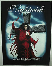 NIGHTWISH Your Death Saved Me Official Giant Back Patch (1)