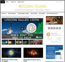 Btc Blog Turnkey Affiliate Premade Website Business Auto Content