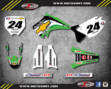 KX 125 / 250 2003 - 2011 Full graphics kit SHIFTER style custom stickers decals