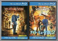 Night at the Museum 1&2 Blu-ray set [JAPAN OFFICIAL]