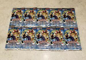 10 Yugioh Legend of Blue Eyes White Dragon Legendary Booster Pack NEW Sealed!