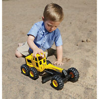 Tonka Classic Steel Toughest Road Grader Construction Toy