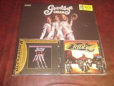 CREAM GOODBYE RARE MFSL AUDIOPHILE 24-KARAT GOLD CD + 180 GRAM LP BONUS CUTS +CD
