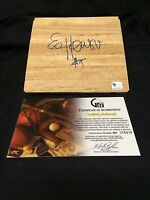 Eddie House Boston Celtics Miami Heat Arizona State Signed Autograph Floorboard