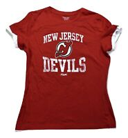 Reebok Womens NHL New Jersey Devils Hockey Shirt New S