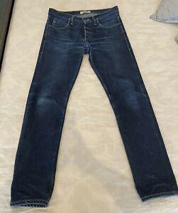 Naked and Famous Denim Elephant 2 Super Skinny Guy Selvedge Jeans