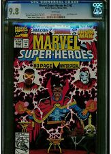 MARVEL SUPER HEROES #V2 #12 CGC 9.8 WINTER 1992 WHITE PAGES DEREK YANIGER COVER