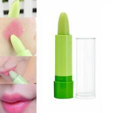 Magic Green Temperature Change Color Lipstick Moisture to Pink Lip Balm Stick