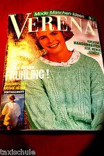 Original 90er Jahre Verena Strickanleitung Heft Pullover Stricken Vintage