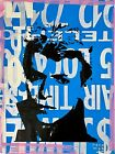 Peter Mars Art David Bowie Rockstar Icon British Glam Rock Fashion