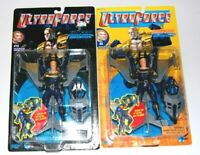 Ultra Force Hardcase Action Figure Lot (2)  FREE S/H Galoob  Malibu Comics