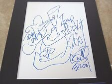 Fred Durst Limp Biscuit Signed Autographed Matted 11x14 Sketch PSA Certified