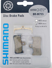 SHIMANO M04 Disc Brake Resin Pads Set for Deore XT BR-M755
