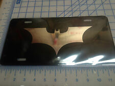 Batman Dark night car tag/ license plate (chrome)