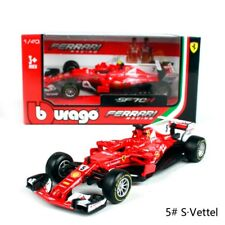 2017 F1 Ferrari Team #5 Sebatian Vettel 1:43 Scale by Bburago