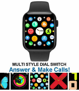 Smart Watch Series X6 Bluetooth Call Receive View Notifications Heart rate UK