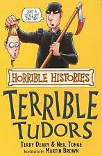 The Terrible Tudors (Horrible Histories),New Condition