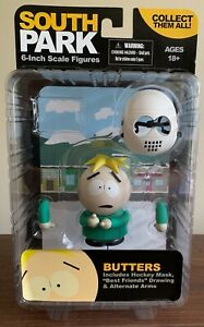 "NEW South Park Butters 6"" Sealed Action Figure  Mezco Toyz  2011"