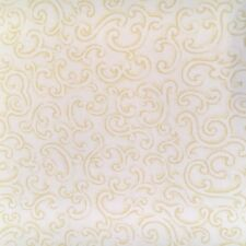 Vintage Wallpaper Sage And Cream Filigree Scroll By Hodsoll McKenzie