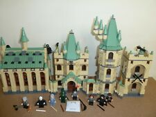 LEGO HARRY POTTER  4842 HOGWARTS CASTLE COMPLETE ALL 11 FIGS INSTRUCTIONS