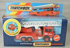"Matchbox Super Kings #K132 Magirus Deutz Ladder Truck 7"" Long 1987 Mint With Box"