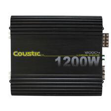 Coustic 1200C4 1200W Class-AB 4-Channel Car Audio Amplifier MTX Audio NEW
