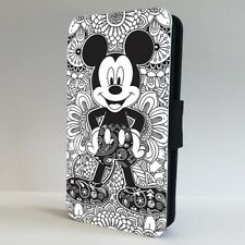 Mickey Mouse Disney Shapes Pattern FLIP PHONE CASE COVER for IPHONE SAMSUNG