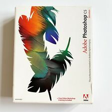 Adobe Photoshop CS Education 2003 CD, Training Video, User Guide, Serial Number