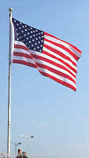 USA Stars and Stripes 5ft x 3ft Flag with FREE Proud American 59mm button