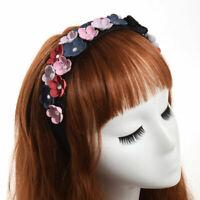 Lolita Ladies' Butterfly Flower Headband Vintage Party Wedding Girls' Hairband