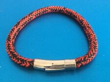 with Stainless Steel Clasp. Surfing Unisex Xl Bracelet Marine Norwegian Rope