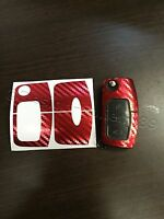 Carbon c-rot Folie Schlüssel Ford MK2 Galaxy C S Fiesta Smax CMax RS ST Focus