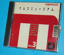 Namco Museum vol. 3 - Sony Playstation - PS1 PSX - JAP