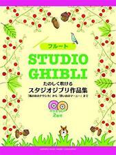 Studio Ghibli Flute Sheet Music Collection Book with CD Nausicaa Marnie