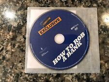 How To Rob A Bank Dvd! Caper Story! Also See Takers & High Hells & Low Life's