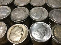 10 Cent / Silver Dime USA 1912 - 1964 Barber / Mercury / Roosevelt