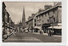The High Street And Greyfriars Church, Dumfries: Dumfriesshire postcard (30040)