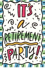 Funny Retirement Party Come Be Jealous Hallmark Party Invitations  - Set of 8
