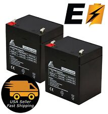 12V 4.5Ah 5AH Battery Razor E100 Electric Scooter & Gas F1 Terminals Pack 2