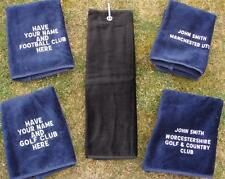 Personalised Tri-Folded Golf Towel
