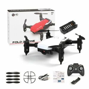 Drone With Camera WiFi FPV GPS Foldable Quad Copter Full HD 4K Video Mini Drone