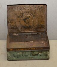 Antique Players Navy Cut tobacco cigarette tin collectible early factory package