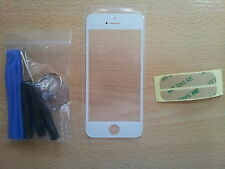 screen glass Digital White for Iphone 5 5S 5C +Adhesive + Tools