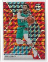 2019-20 Panini Mosaic basketball Orange Reactive prizm Tyus Jones #106