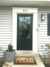 "COTTAGE STYLE 4 LITE FIBERGLASS ENTRY DOOR 36"" x 80"""
