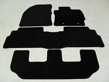 Toyota Verso 7 Seat 2012-on Fully Tailored Car Floor Mat Set in Black