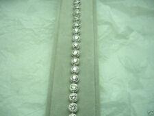 DIAMOND BRACELET 5.75CARAT TOTAL WEIGHT 14K  WHITE GOLD